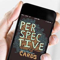 Perspective Cards app