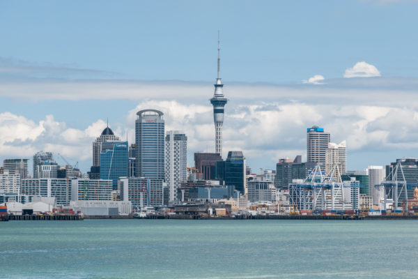 Auckland Skyline as seen from Devonport