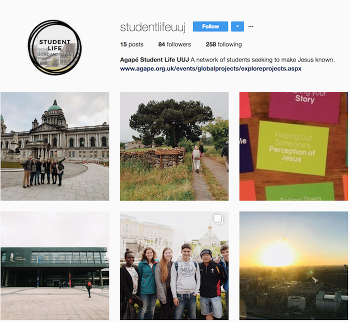 Instagram launches student movement